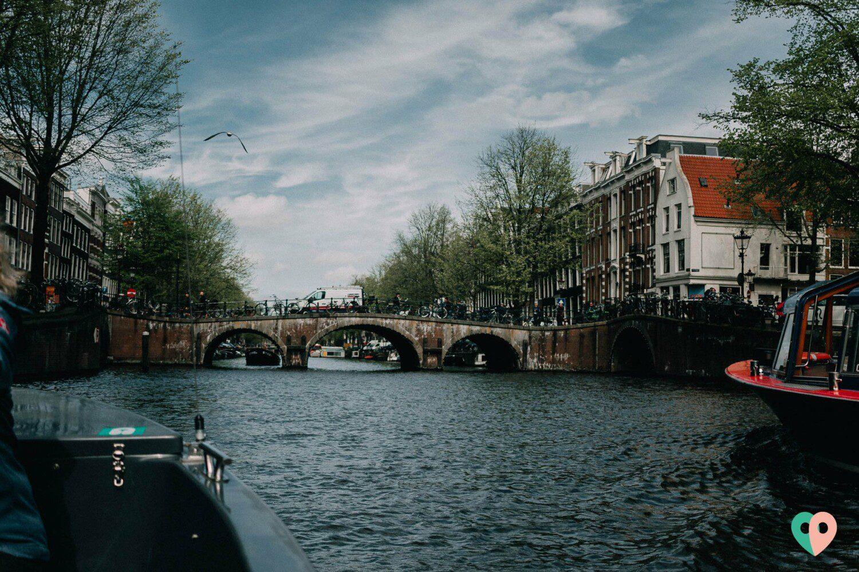 Amsterdam vom Boot aus