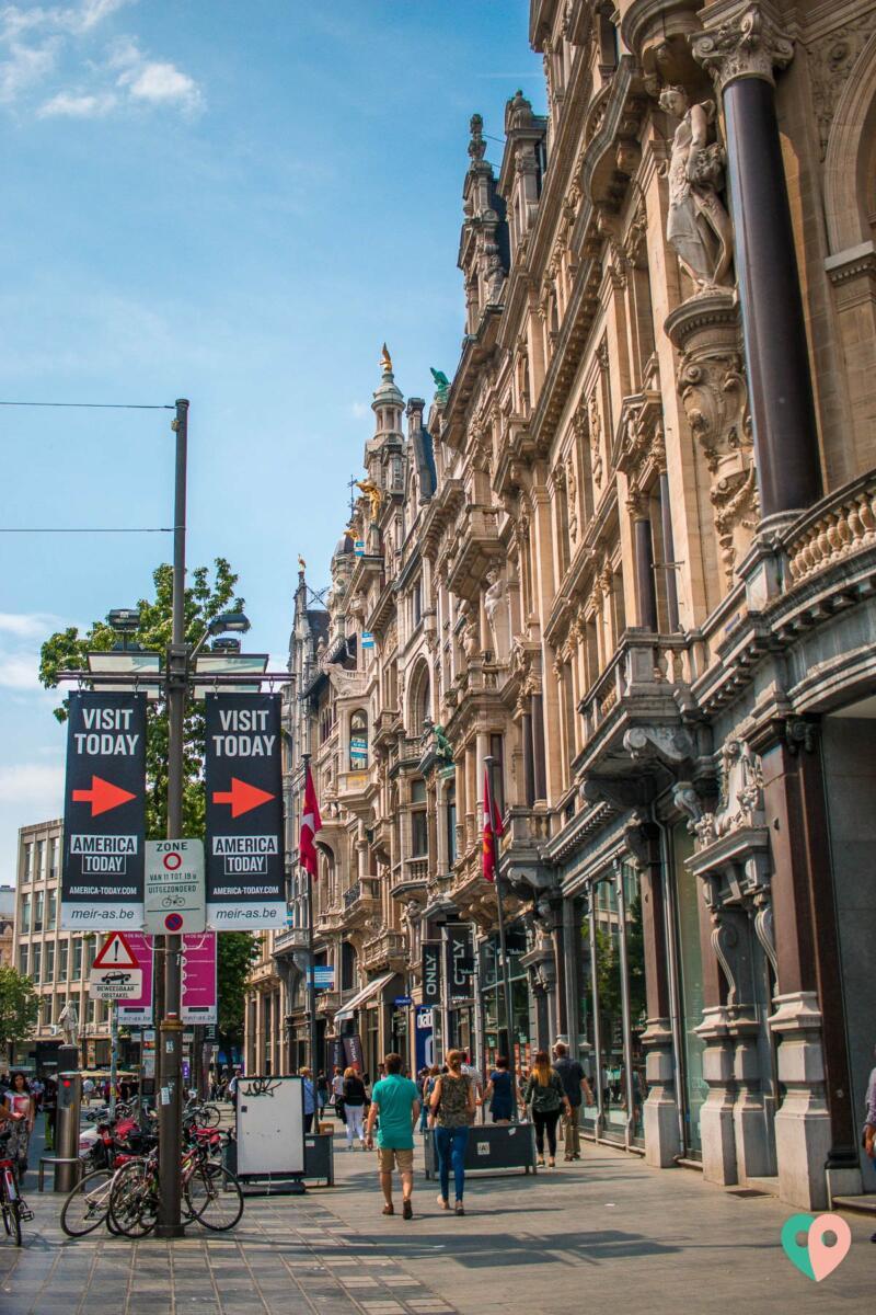Antwerpen Fußgängerzone