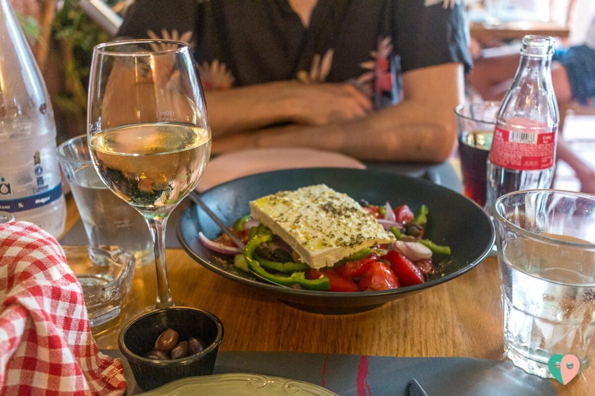 Chania Foodguide - Griechischer Salat bei Kritamon