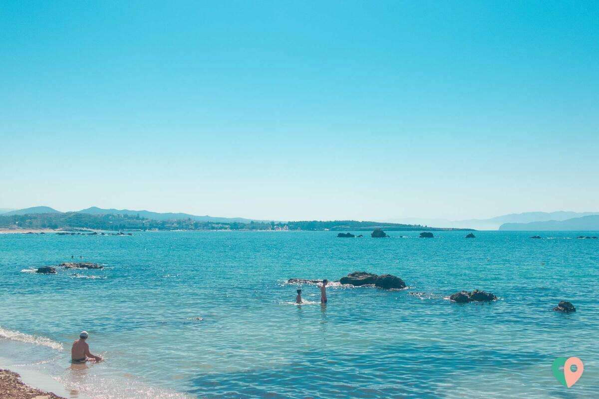 Nea Chora Strand in Chania Kreta