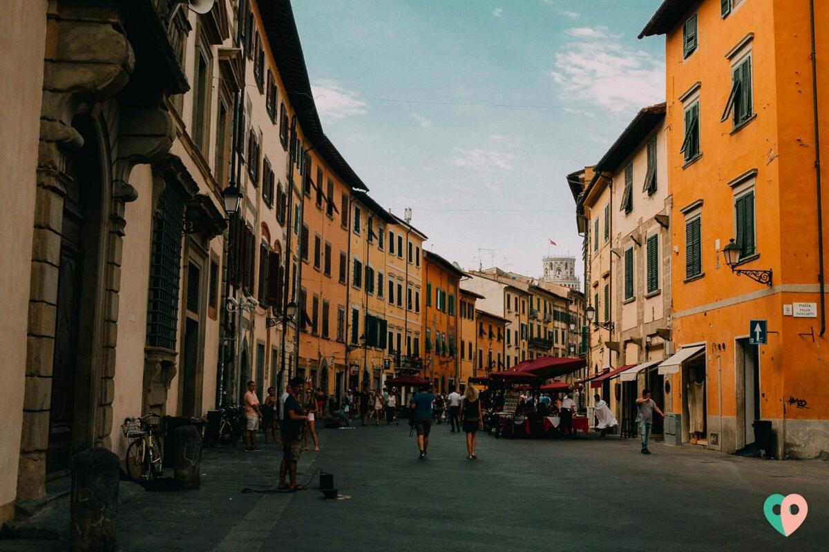 Straßen von Pisa