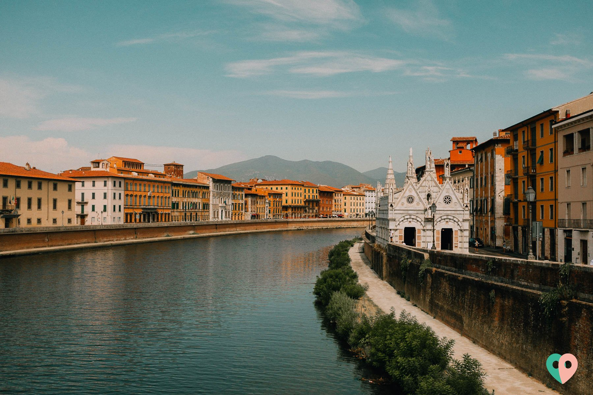 Arno in Pisa