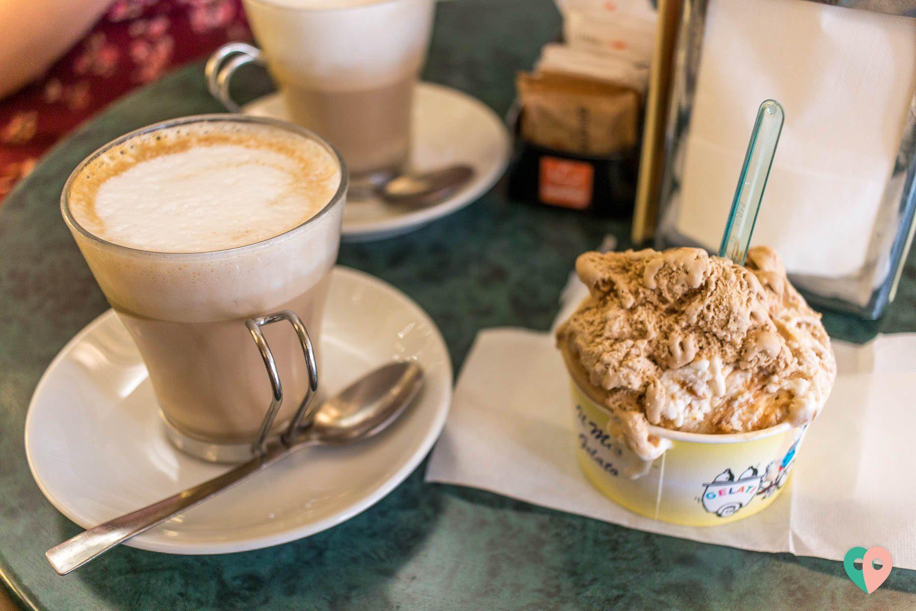 Florenz Foodguide - Gelato und Kaffee