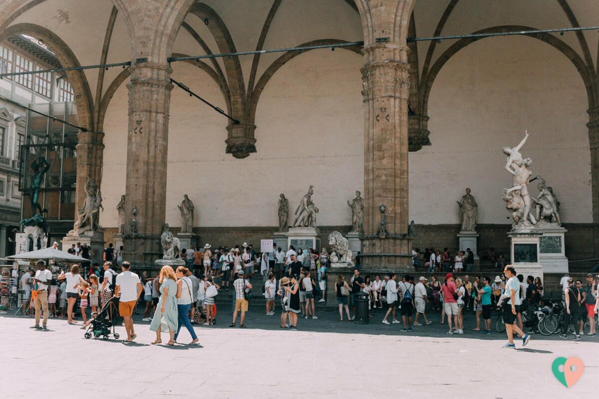 Loggia dei Lanzi Florenz