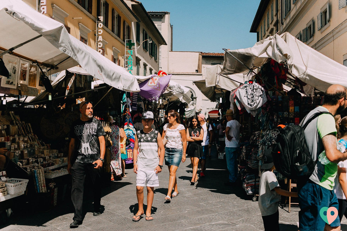 Ledermarkt Florenz