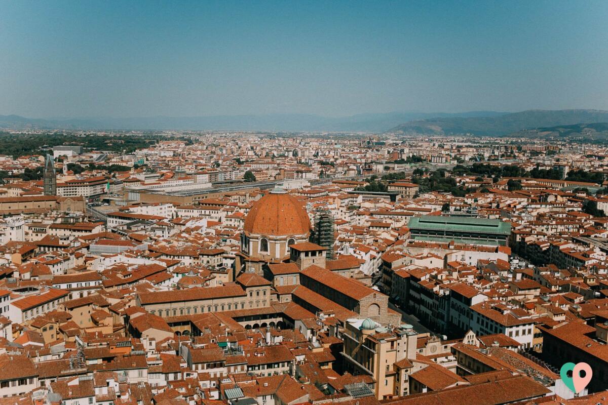 Aussicht vom Dom von Florenz