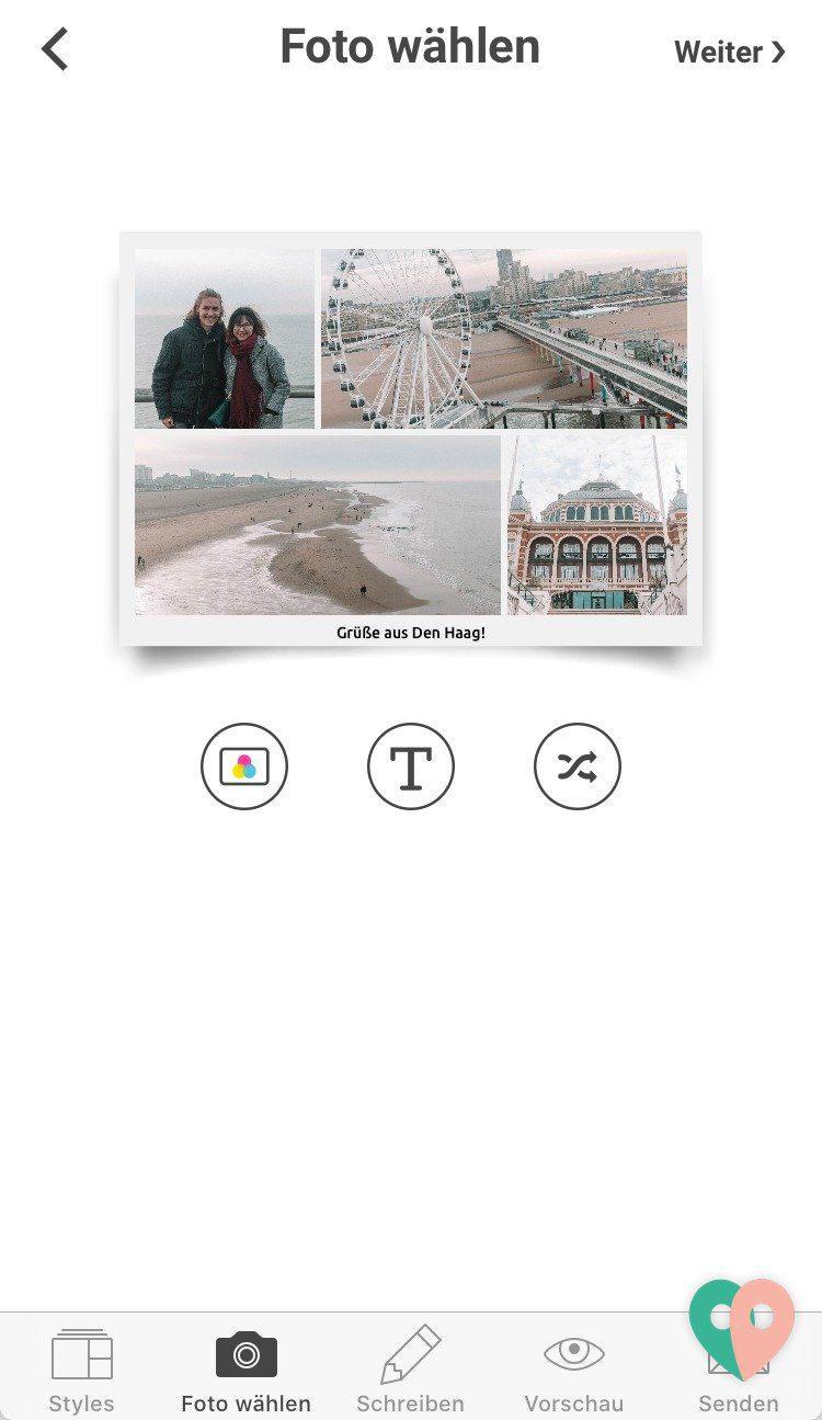 MyPostcard - die Postkarten-App für personalisierte Urlaubsgrüße