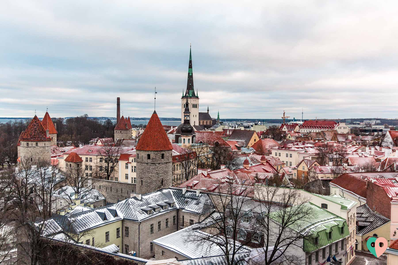 Tallinn im Winter - ein romantischer City-Trip