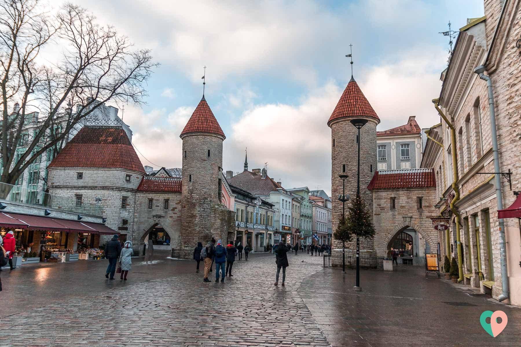 Das Viru-Tor in Tallinn