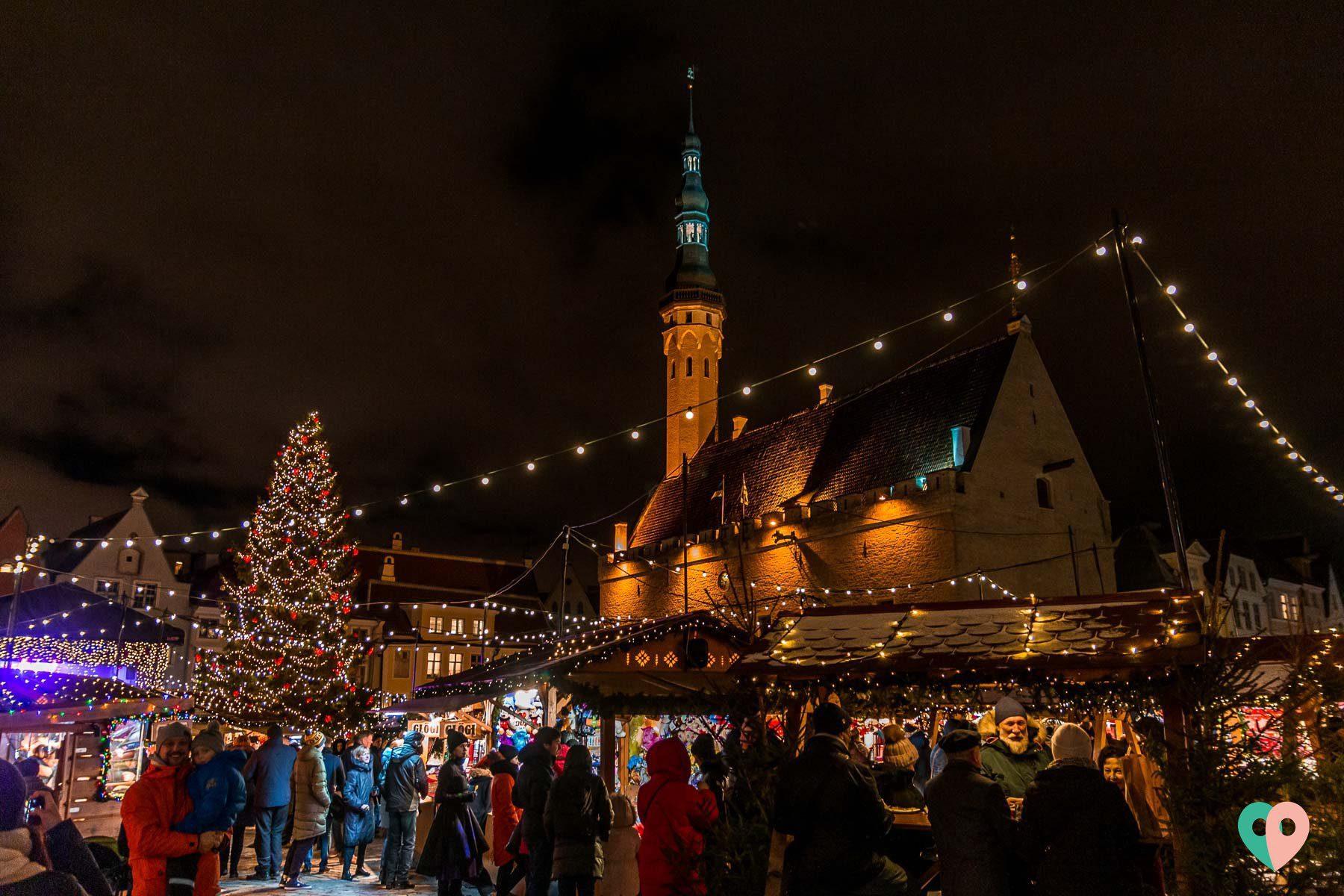 Weihnachtsmarkt Tallinn